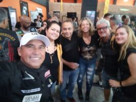 Poliana, Carlos, Aline, Julio e Liliane TV Brasil programa Brasil sobre duas rodas
